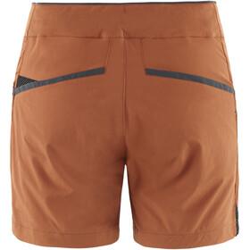 Klättermusen Vanadis 2.0 Shorts Mujer, naranja